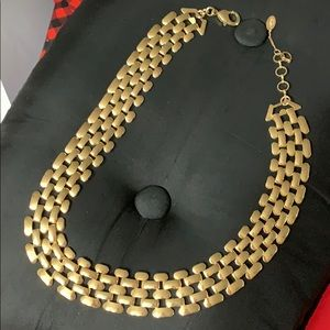 Necklace in beautiful gold tone